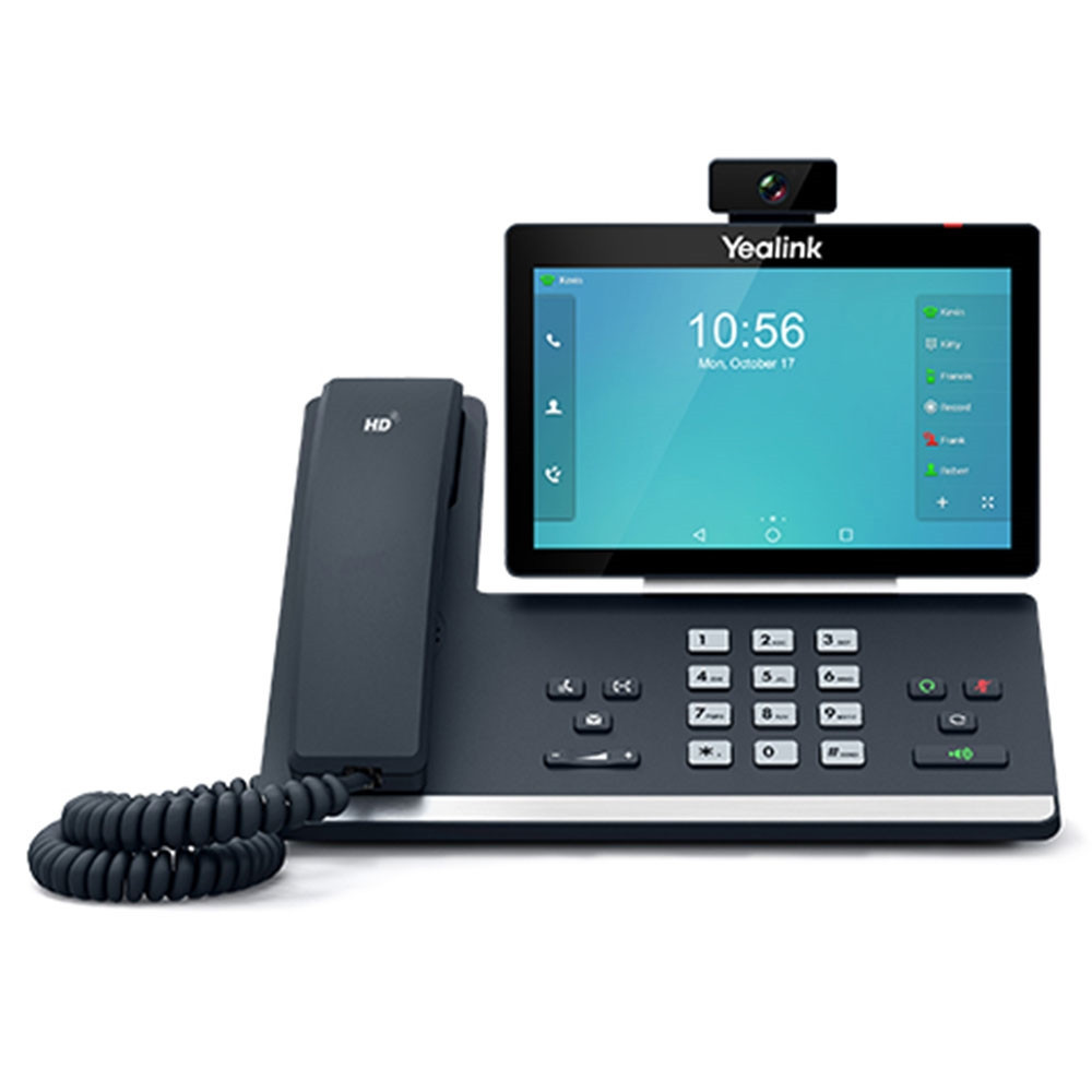 Yealink SIP-T58V SIP-телефон мультимедийный (адаптер питания в комплект не входит)