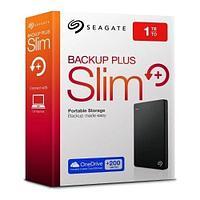 "USB 3.0 HDD External 1000Gb 2.5"", Seagate Backup Plus Portable, Black"