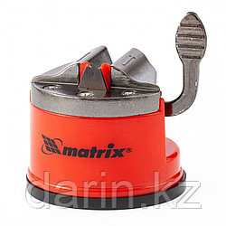 Приспособление для затачивания ножей любого типа, метал. направляющая, крепление на присоске Matrix