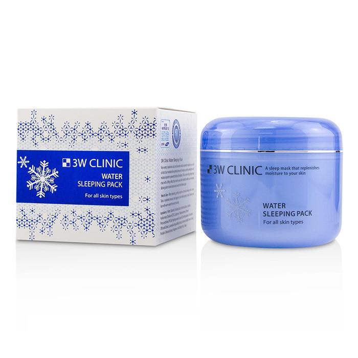 Увлажняющая ночная маска для лица 3W Clinic Water Sleeping Pack