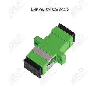Адаптер оптический соединительный, SM, SC/APC-SC/APC