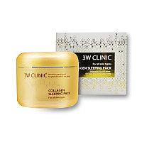 Hочная маска для лица с коллагеном 3W Clinic Collagen Sleeping Pack 100 ml.