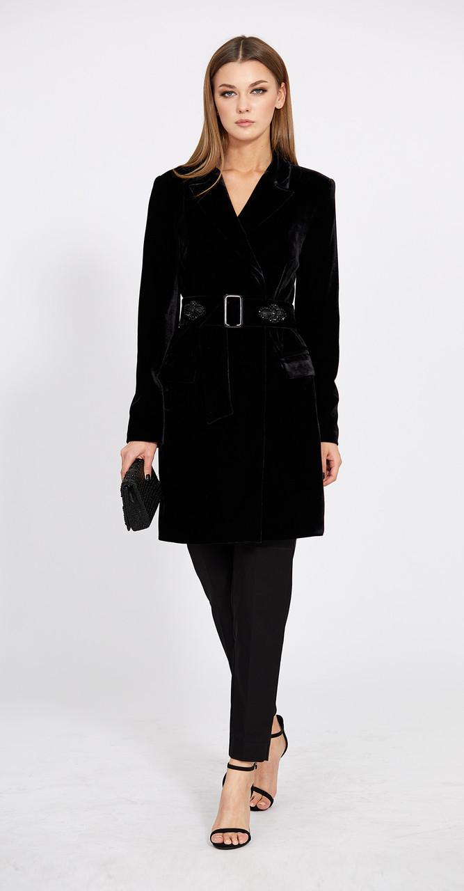 Платье EOLA-1585, черный, 44