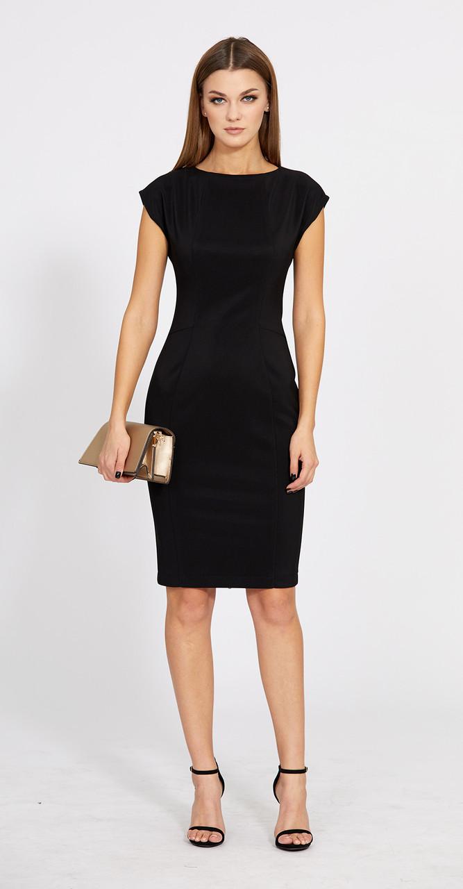 Платье EOLA-1774, черный, 44