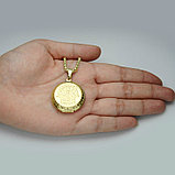 "Кулон-медальон для фото на цепочке ""Хамса"", фото 6"