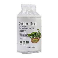 Мицеллярная вода с экстрактом зеленого чая 3W Clinic Green Tea Cleanup Cleansing Water