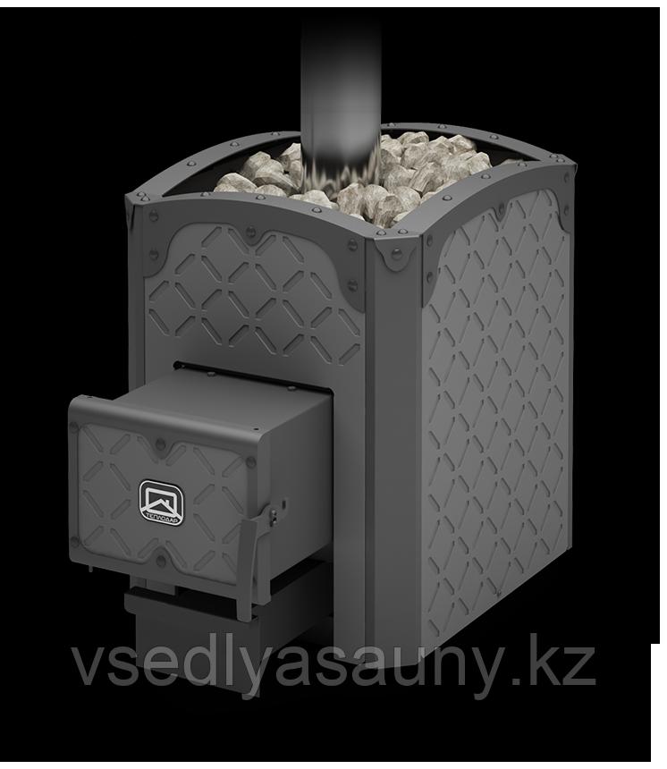 Печь для бани и сауны Былина-18Ч.(чугунная). Теплодар.