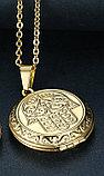 "Кулон-медальон для фото на цепочке ""Хамса"", фото 5"