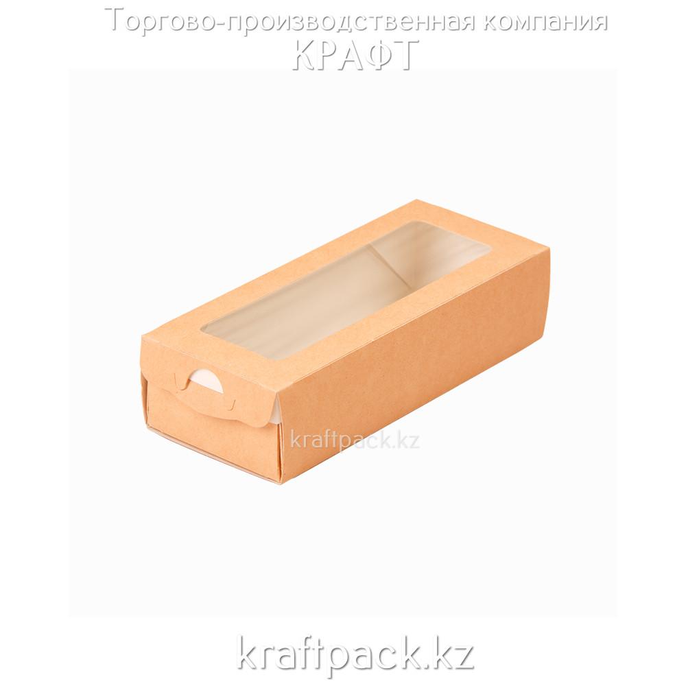 Пенал выдвижной с окном 500мл 170*70*40 (Eco Case 500) DoEco (50/400)