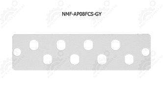 Адаптерная панель, до 8 одинарных адаптеров FC