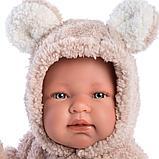 LLORENS: Пупс Малыш 44 см в костбме медвежонка 1102636, фото 4