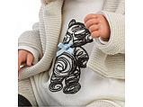 LLORENS: Пупс Малыш 43 см в курточке с мехом, с одеялом 84431, фото 4