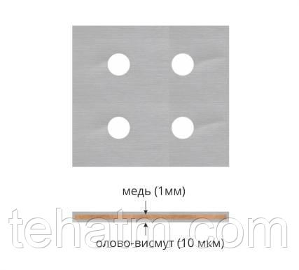 Пластины медные М1 луженые