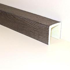 Декоративная балка Кантри Классика Пепел 120х120х2100 мм