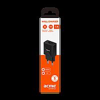 Зарядное устройство ACME CH201 wall charger AC100-240 V, 1 A