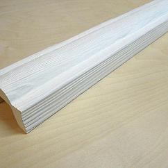 Декоративная балка Кантри Модерн Белый 90х60х3000 мм