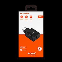 Зарядное устройство ACME CH205 wall charger AC100-240 V 3,4 A