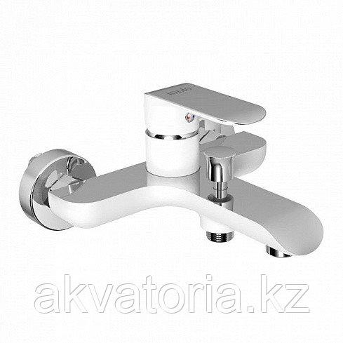 Смеситель для ванны, белый/хром, Calipso, IDDIS, CALSB00i02WA