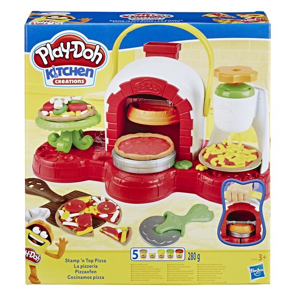 """Hasbro Play-Doh Игровой набор с массой для лепки """"Печем пиццу"""" - фото 1"""