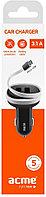 Зарядное устройство ACME CH106 Phone Charger 3.1 A, Black
