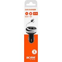 Зарядное устройство ACME CH107 Phone Charger 3.1 A, Black