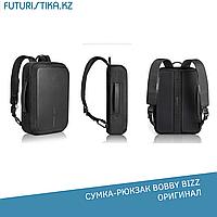 """Деловая сумка-рюкзак анти-вор XD Design Bobby Biz для ноутбука до 15,6"""" (черный)"""