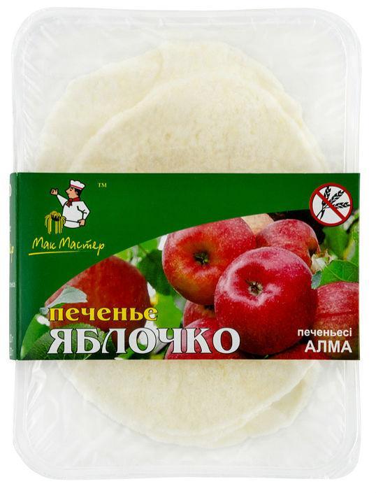 "Печенье безглютеновое ""ЯБЛОЧКО"" с сахаром * 20 гр"