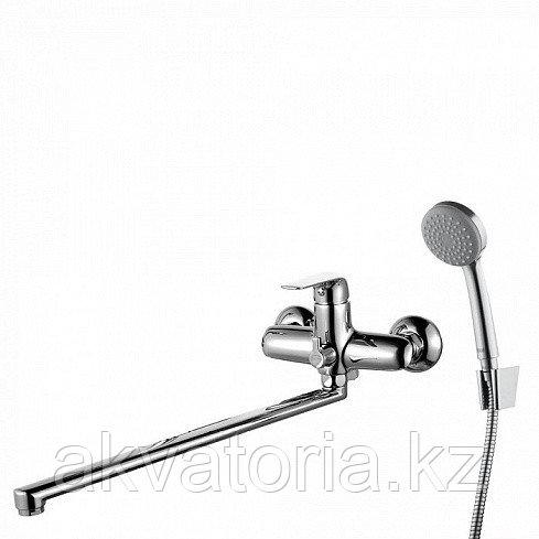 PONSBL2i10  Смеситель для ванны с длинным изливом с керамическим дивертором, Pond, IDDIS