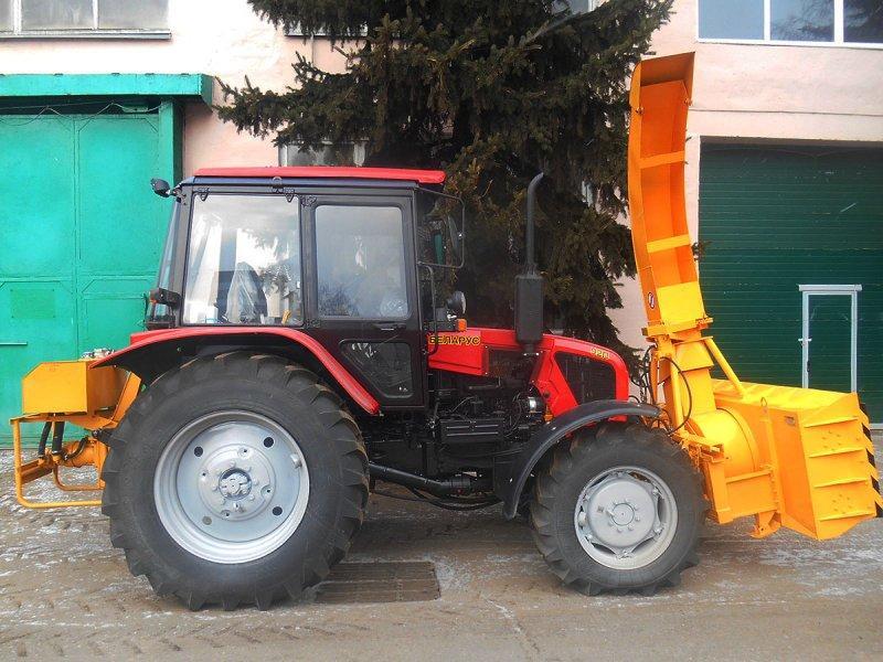 Машина снегоочистительная БЛ-2500