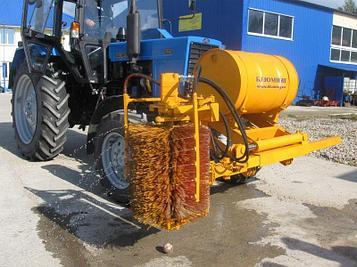Оборудование для очистки дорожных ограждений БЛ900М
