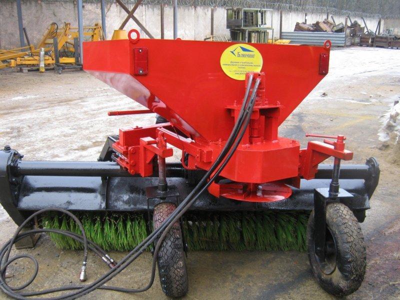 Щеточное оборудование БЛ-2500 (с разбрасывателем песчано-cолевой смеси)