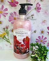 Гель для душа Роза 3W Clinic Relaxing Rose Body Cleanser 1000 ml.