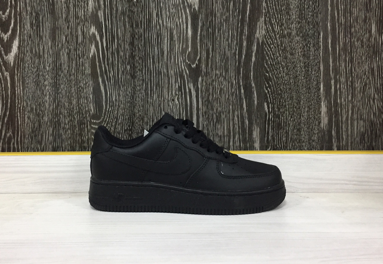 Кроссовки Nike Air Force 1 (Black)