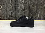 Кроссовки Nike Air Force 1 (Black), фото 3