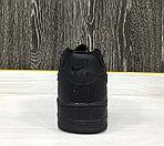 Кроссовки Nike Air Force 1 (Black), фото 2