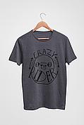 Футболка темно-серая - Crazy Rider