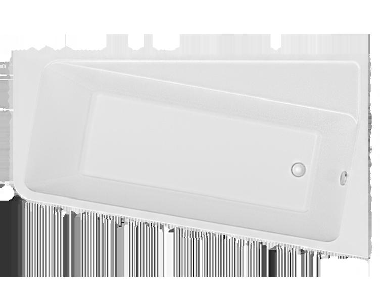 Акриловая ванна Marka One DIRECT 170*100 правая (Полный комплект) Ассиметричная. Угловая