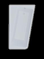 Акриловая ванна Marka One DIRECT 170*100 правая (Полный комплект) Ассиметричная. Угловая, фото 3