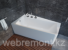 Акриловая ванна Marka One DIRECT 170*100 правая (Полный комплект) Ассиметричная. Угловая, фото 2