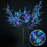 Светодиодное дерево Сакура Мультиколор, фото 1