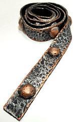 Декоративный ремень для балки Кантри Рустик Серебро с медью 200х170
