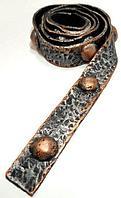 Декоративный ремень для балки Кантри Серебро с медью 170х105 и 150х120