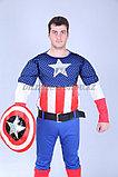 """Костюм """"Капитан Америка"""" на прокат, фото 2"""