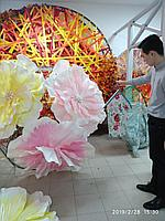 Декоративные цветы из пенопласта на заказ