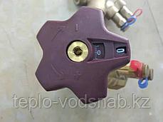 Клапан балансировочный Ду50 с измерительными ниппелями, фото 3