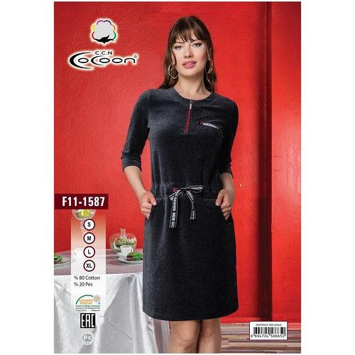 Платье женское до колена. Производитель: Турция CoCoon