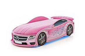 Кровать машина детская Мерседес-М Pink