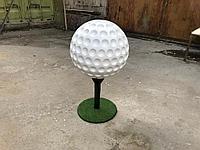 Мяч для гольфа декоративный из пенопласта на заказ, фото 1