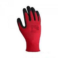 Перчатки #300 красные, с ПВХ покрытием