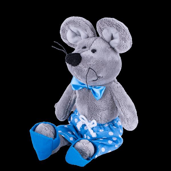 SOFTOY   Мягкая игрушка Мышка, 26см